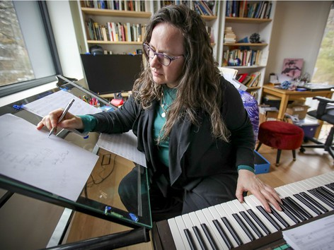 Montreal Gazette | Montreal classical composer got long COVID, then a Grammynomination